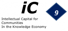 The 9thWorld Conference on Intellectual Capital for Communities, World Bank (Paris), June 6thand 7th2013