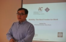 Talk by Professeur Cho (Hanyang University), June 10 2013