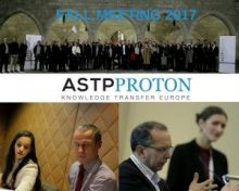 Ahmed Bounfour and Laura Kreiling at ASTP-Proton Fall Meeting