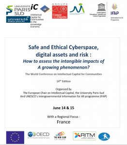 IC14 – The world conference on Intellectual capital – Paris, June 14 & 15 2018